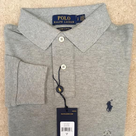 1ea8baa6 Polo by Ralph Lauren Custom Slim Fit Mesh Polo NWT